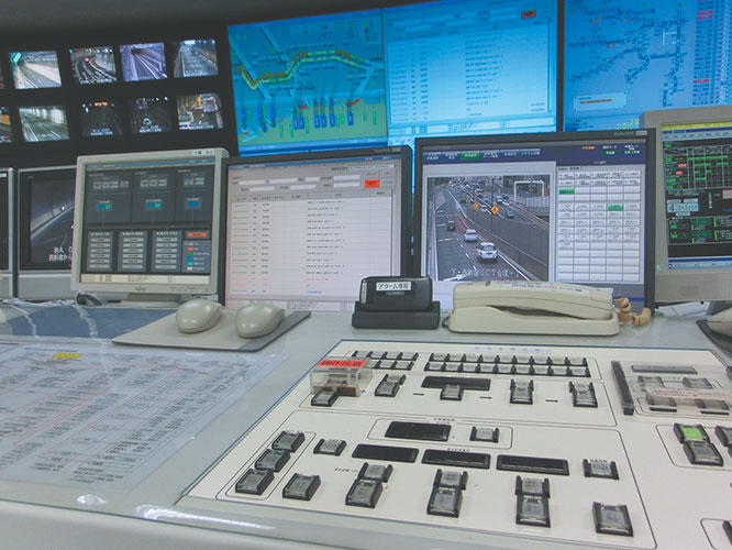 Tunnel Disaster Prevention Operator's Console