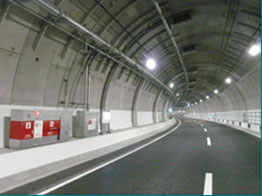 Image of interior of Yamate Tunnel